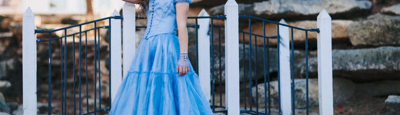 Alice in Wonderland – Down the Hole – Costume Replica