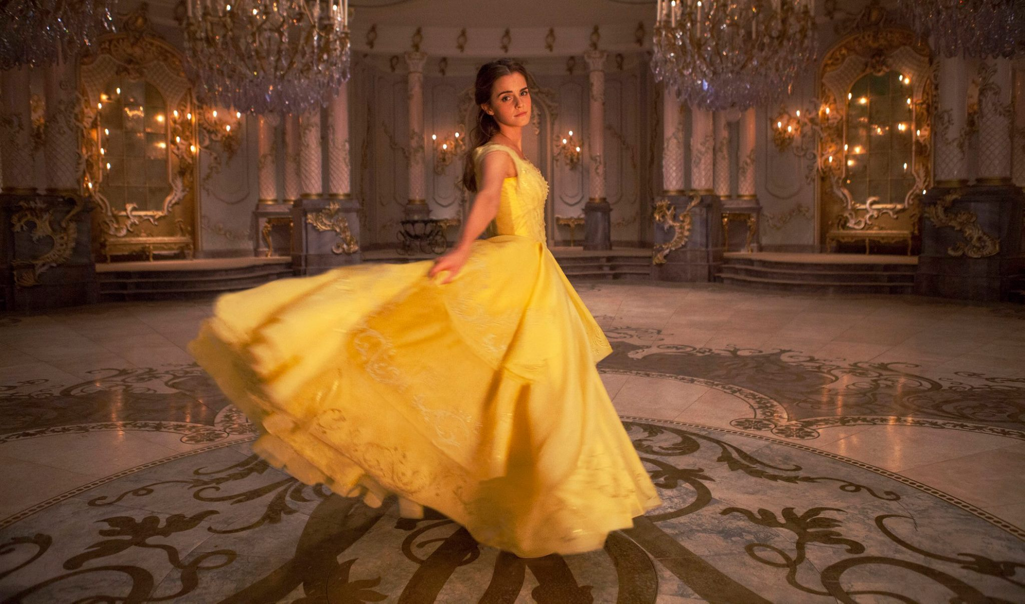Tale as Old as Time – Belle's Yellow Ballgown – The Beginning