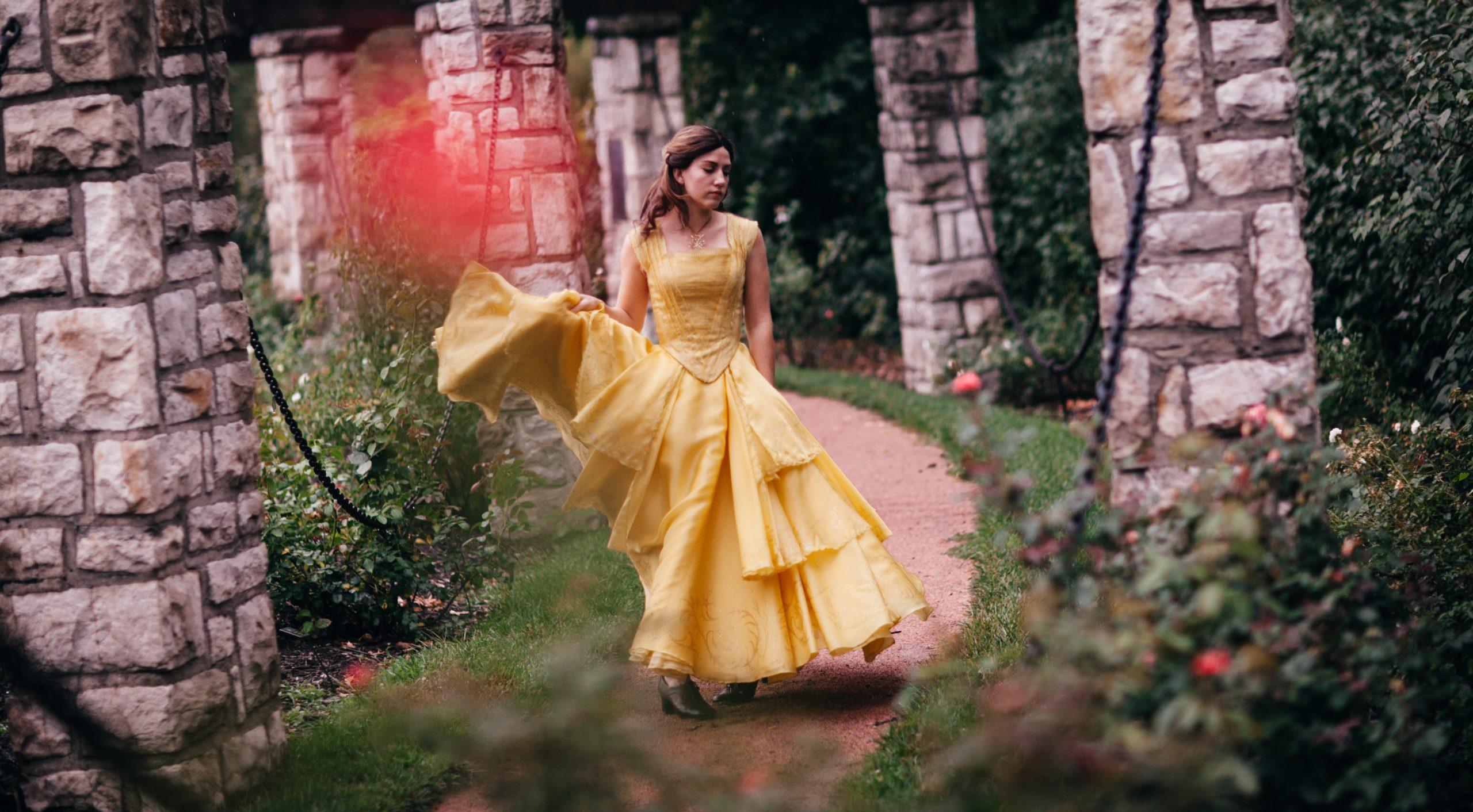 Belle's Yellow Ballgown – Costume Replica – Photos