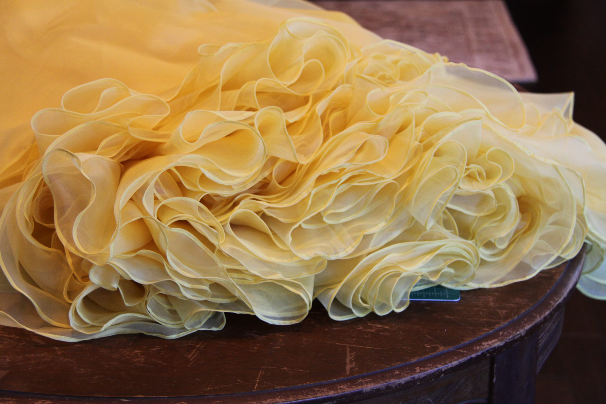 Sewing a Beauty – Belle's Yellow Ballgown – Step 1: Underskirts