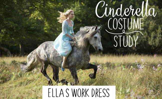 Ella's Work Dress – Cinderella 2015 – Costume Study