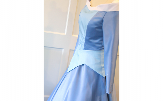 Aurora's Blue Gown – With a Sparkly Twist – Sleeping Beauty Costume Replica