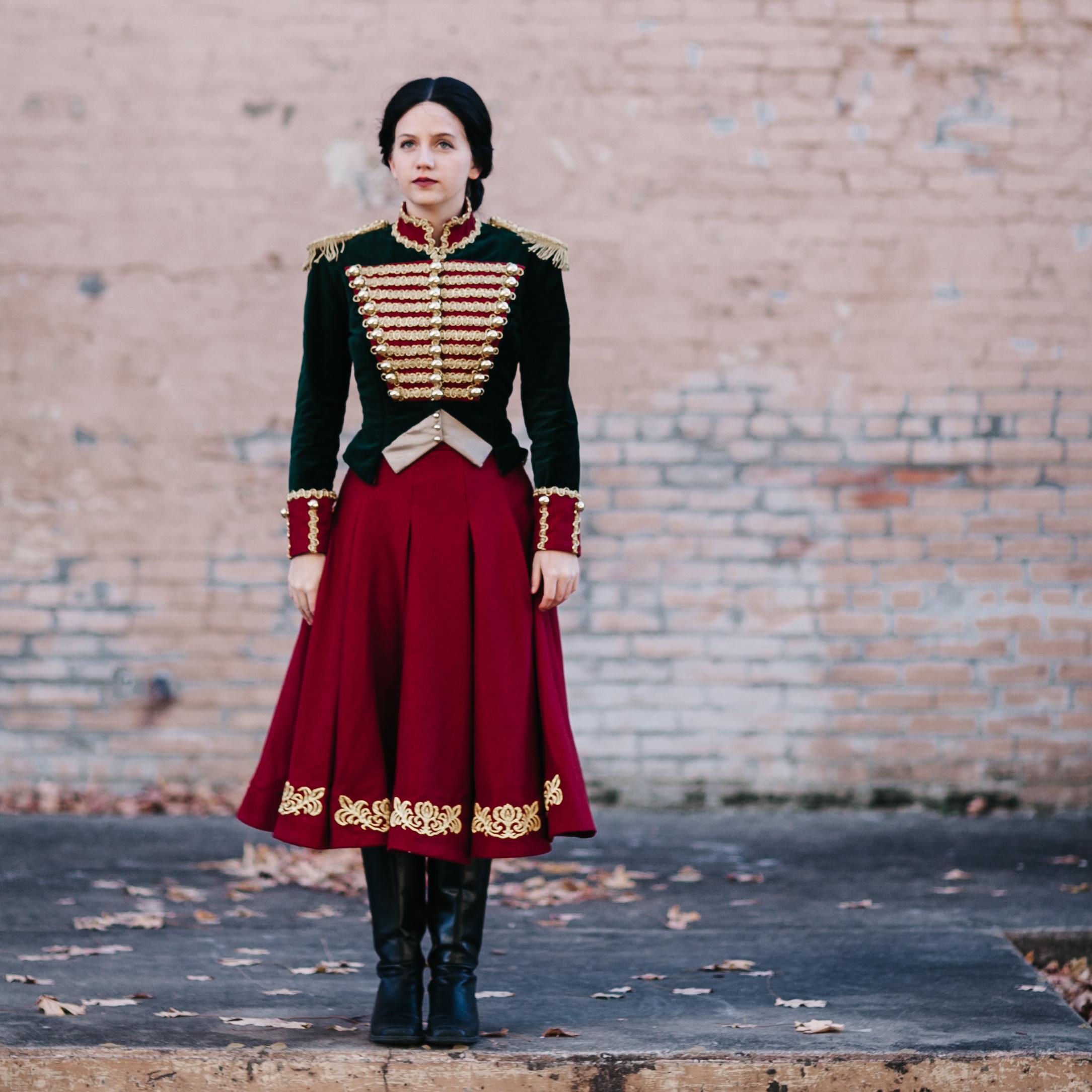 Clara's Nutcracker Outfit